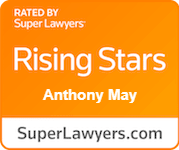 Rate by Super Lawyers Rising Stars Anthony May, Superlawyers.com