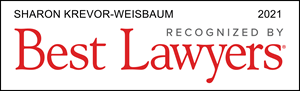 Best Lawyers, recognized 2021, Sharon Krevor-Weisbaum