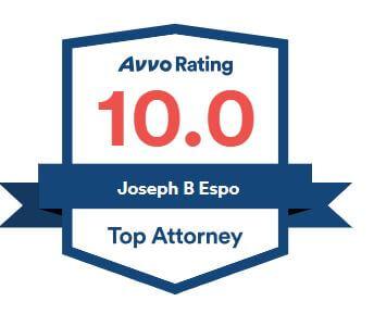 Avvo rating 10.0 Joseph B. Espo, top attorney