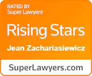 rated by super lawyers, rising stars, Jean Zachariasiewicz