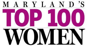 Maryland's top 100 women award