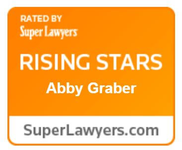 rated by super lawyers, rising Stars, Abby Graber, superlawyers.com