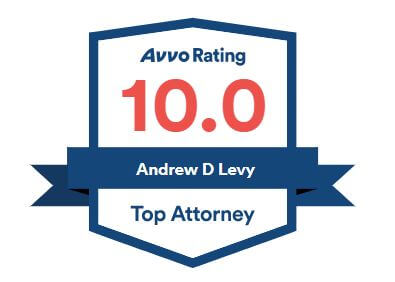 Avvo Rating 10.0, Andrew D Levy top attorney