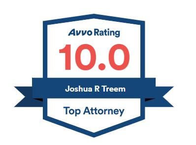 Avvo rating 10.0 Joshua R. Treem, Top Attorney