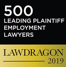 500 leading Plaintiff Employment Lawyers, Lawdragon 2019