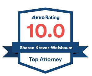 Avvo Rating 10.0, Sharon Krevor-Weisbaum top attorney