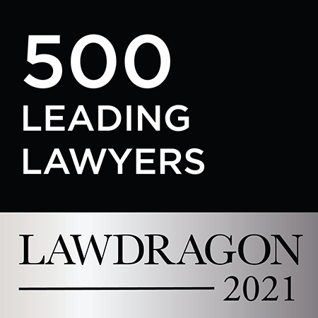 500 Leading Lawyers, Lawdragon 2021